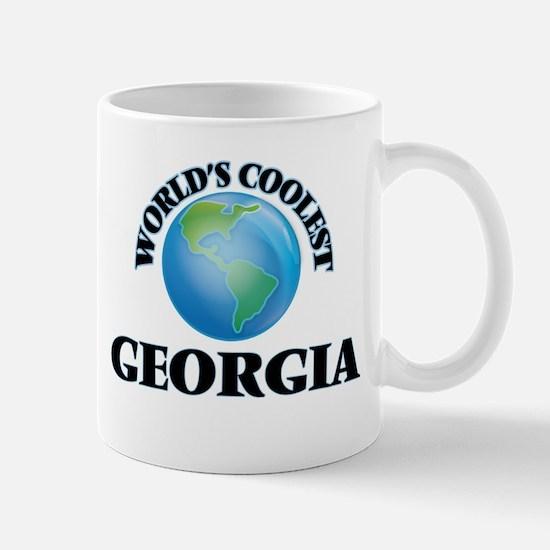World's Coolest Georgia Mugs