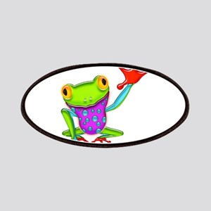 Waving Poison Dart Frog Patches