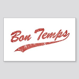 Vintage Bon Temps Sticker