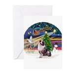 XMagic-Aussie Shep 1 Greeting Cards (Pk of 10)