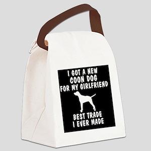 coondog girlfriend Canvas Lunch Bag