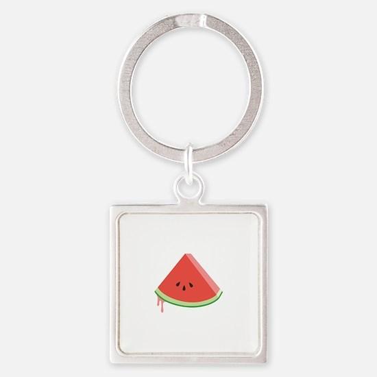 Juicy Watermelon Keychains
