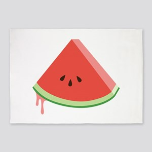 Juicy Watermelon 5'x7'Area Rug