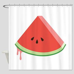 Juicy Watermelon Shower Curtain