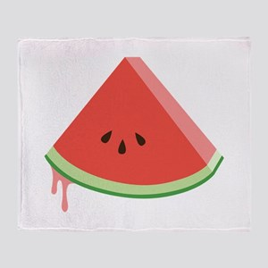 Juicy Watermelon Throw Blanket