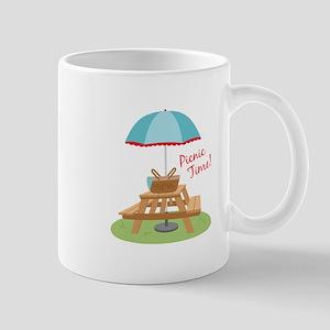 Picnic Time Table Mugs
