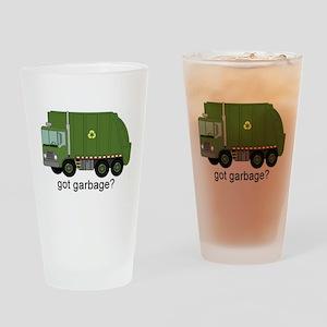 Got Garbage? Drinking Glass