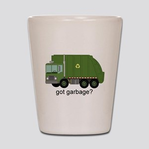 Got Garbage? Shot Glass