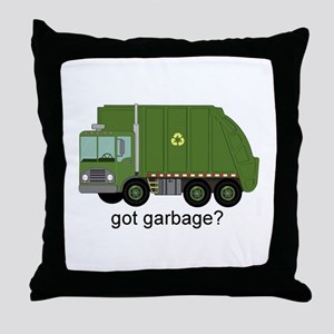 Got Garbage? Throw Pillow