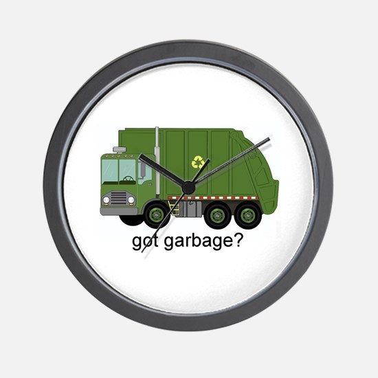Got Garbage? Wall Clock