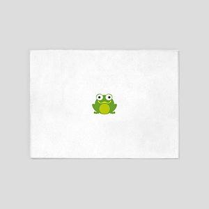 Friendly Froggy 5'x7'Area Rug