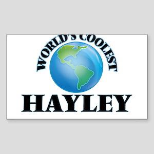World's Coolest Hayley Sticker