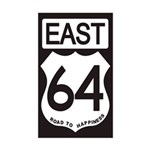 64 EAST Bumper Sticker