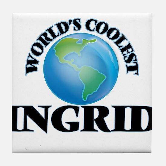 World's Coolest Ingrid Tile Coaster