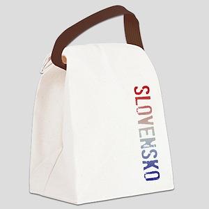 co-stamp01-slovensko Canvas Lunch Bag