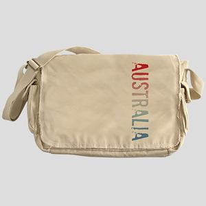 co-stamp04-australia Messenger Bag