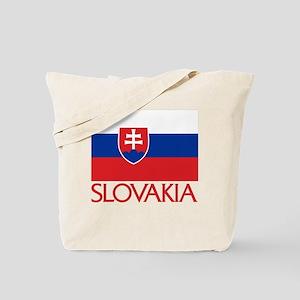 slovakia-flag Tote Bag