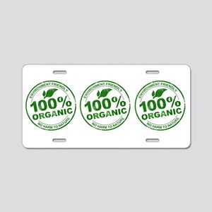 Organic Seal Aluminum License Plate