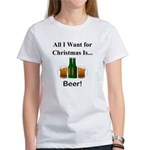 Christmas Beer Women's T-Shirt