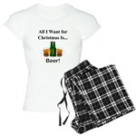 Christmas Beer Women's Light Pajamas