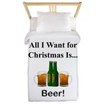 Christmas Beer Twin Duvet