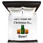 Christmas Beer King Duvet