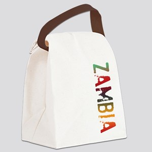 co-stamp03-zambia Canvas Lunch Bag