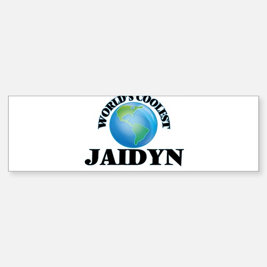 World's Coolest Jaidyn Bumper Bumper Bumper Sticker