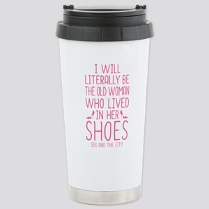 Carrie Shoe Quote Sex And The City Travel Mug