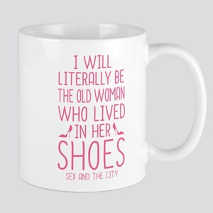 Carrie Shoe Quote Sex And The City Mugs
