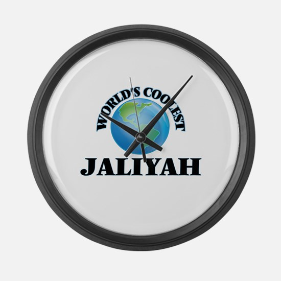 World's Coolest Jaliyah Large Wall Clock