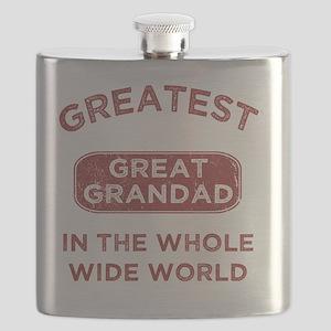 Greatest Great Grandad In The World Flask