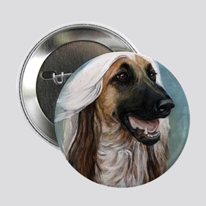 AFGHAN HOUND Button