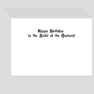 Work of Fiction Greeting Cards (Pk of 10)