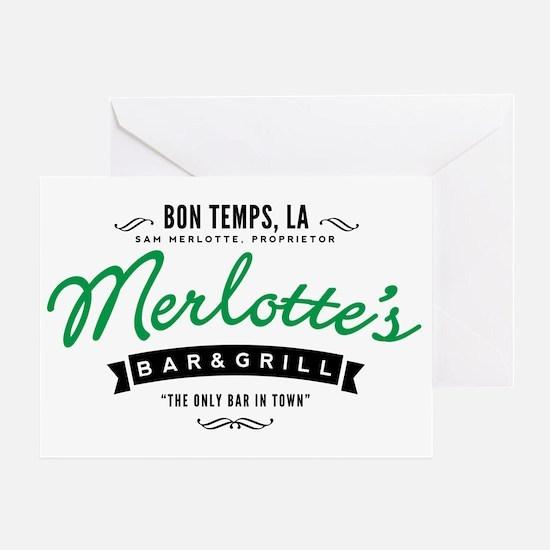 Merlotte's In Bon Temps True Blood Greeting Cards