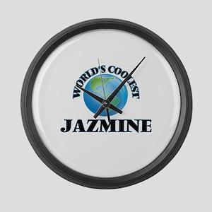 World's Coolest Jazmine Large Wall Clock