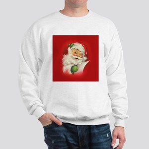 Vintage Christmas Santa Claus Sweatshirt