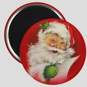 Vintage Christmas Santa Claus Magnets