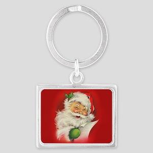 Vintage Christmas Santa Cl Keychains
