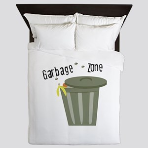Garbage Zone Queen Duvet