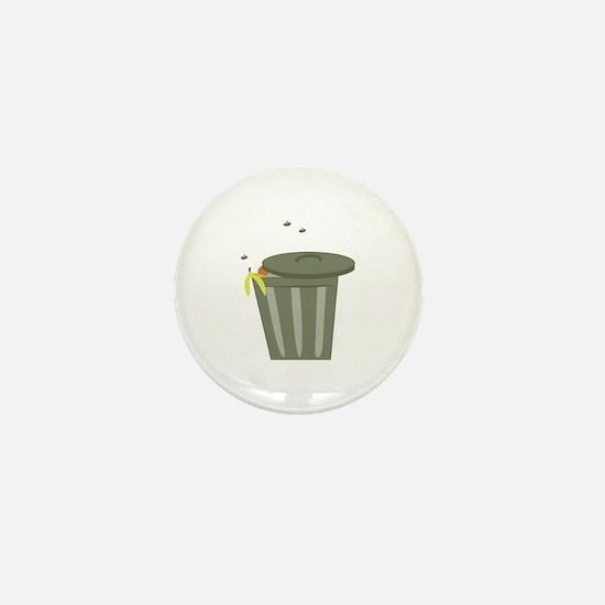 Trash Can Mini Button