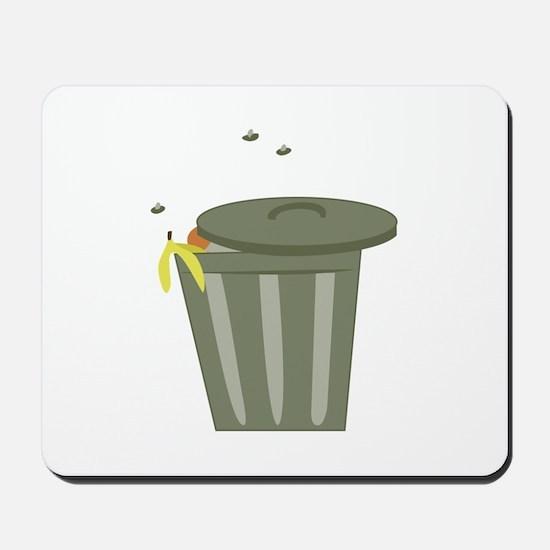 Trash Can Mousepad