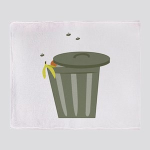 Trash Can Throw Blanket