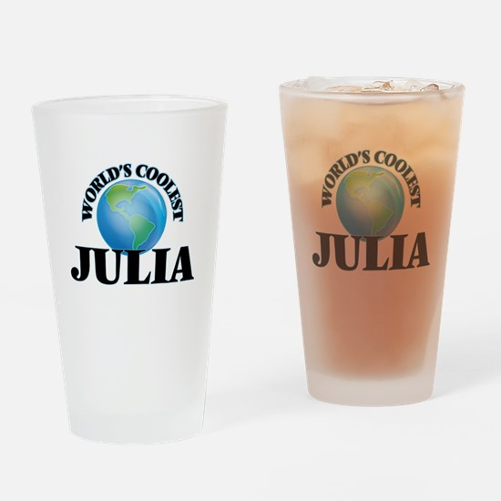 World's Coolest Julia Drinking Glass