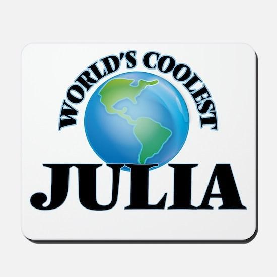 World's Coolest Julia Mousepad