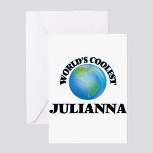 World's Coolest Julianna Greeting Cards