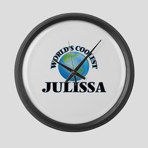 World's Coolest Julissa Large Wall Clock