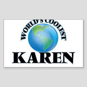 World's Coolest Karen Sticker