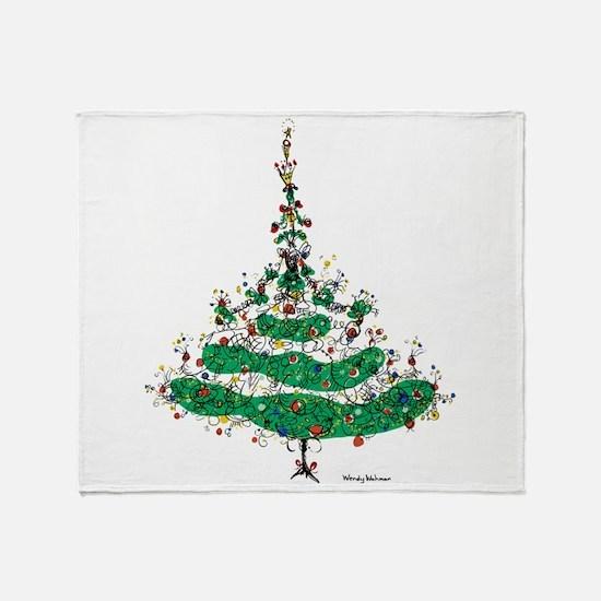 Christmas Dress Throw Blanket