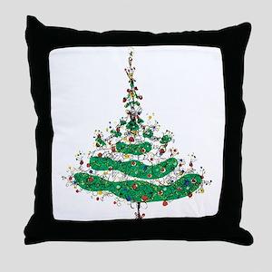 Christmas Dress Throw Pillow